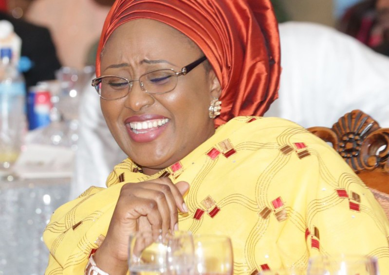 Aisha Buhari in the US