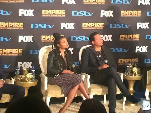 TERRENCE HOWARD AND TARAJI P HENSON 1