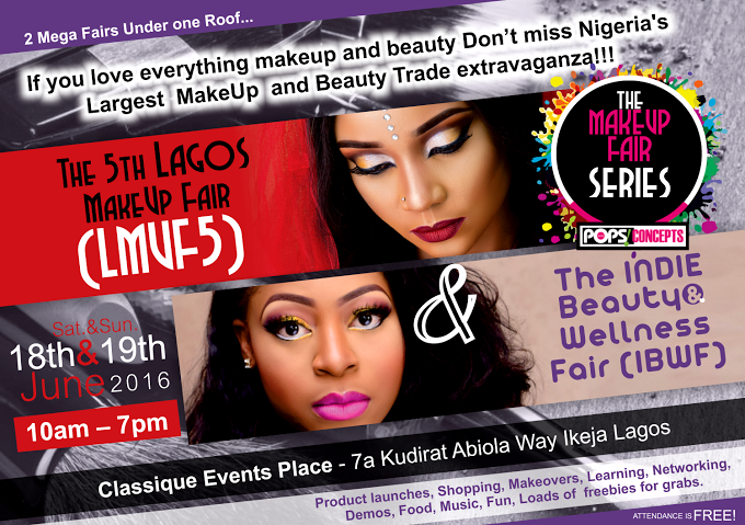 THE LAGOS MAKEUP FAIR