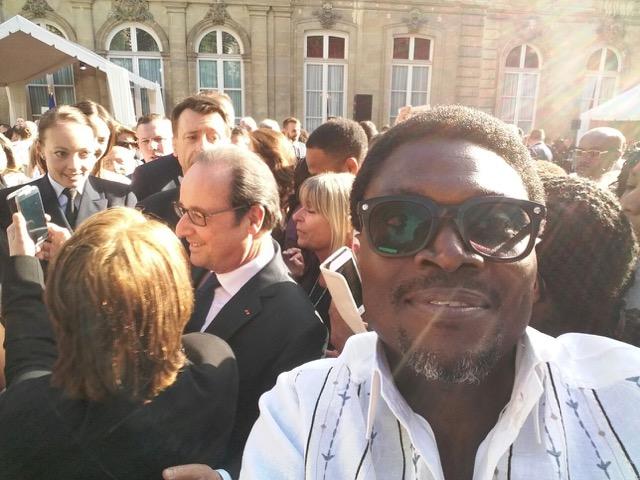 Lexy Mojo-Eyes and French President