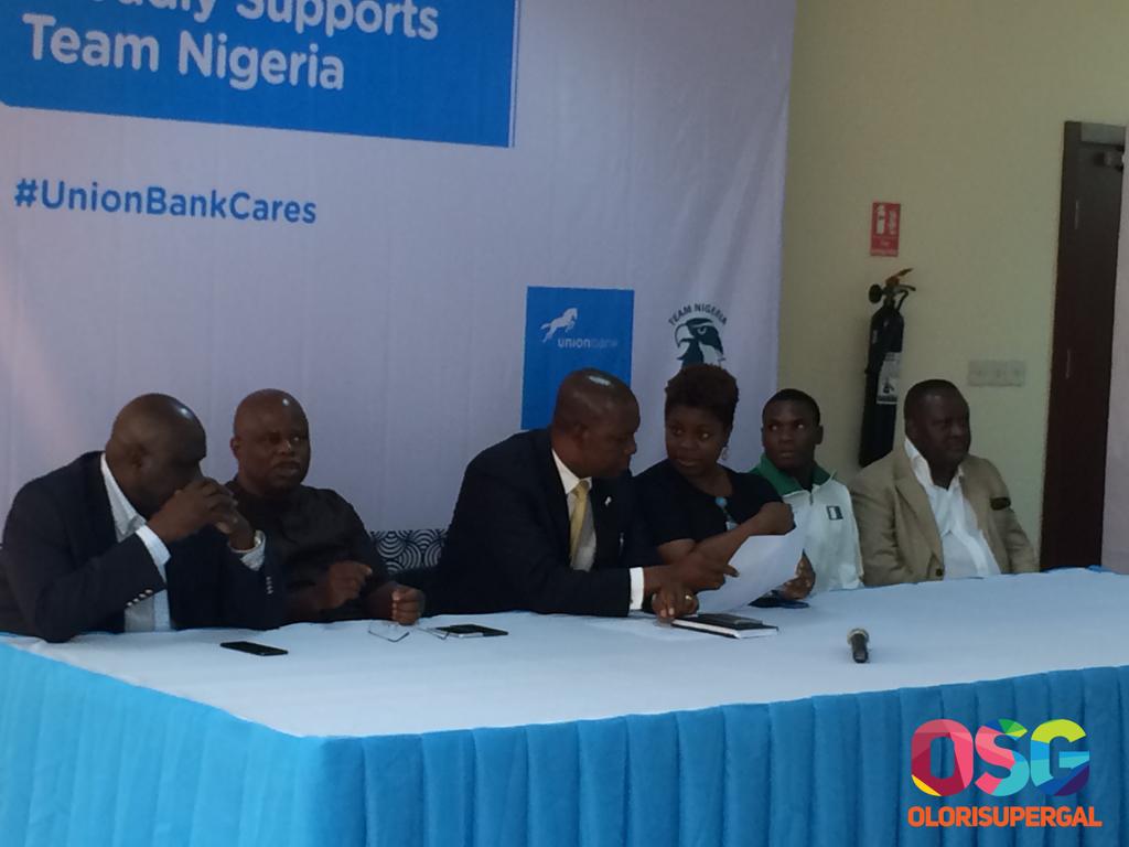 Union Bank supports Team Nigeria