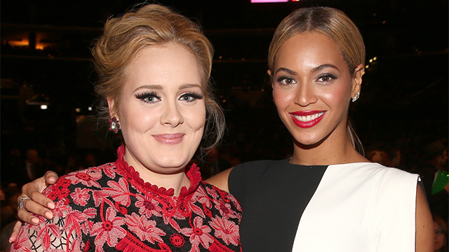 Adele and beyonce lead MTV Video awards
