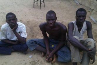 Arrested Boko Haram members