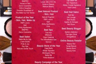 Genevieve Beauty Awards
