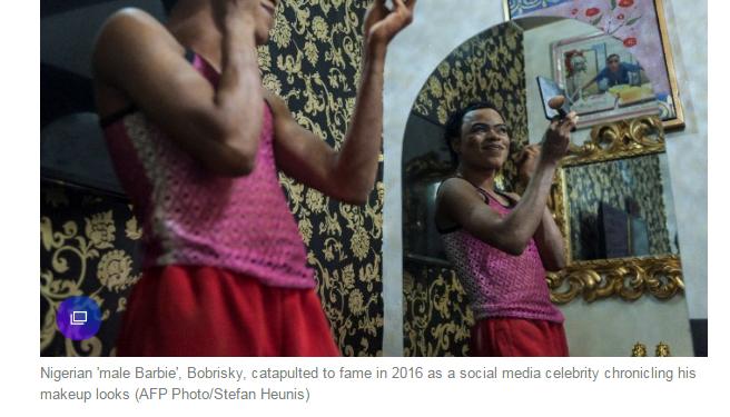 Bobrisky Becomes the Focus of International News Media