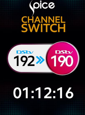 Spice TV Makes the Big Switch from DSTV Channel 192 to 190 | 1st December 2016