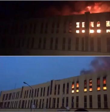 Fire outbreak in Bakassi female hostel Yabatech