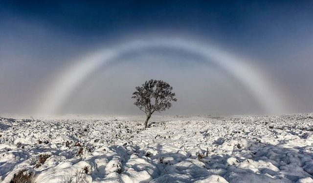 The Photo of a White Rainbow in Scotland Has Gone Viral