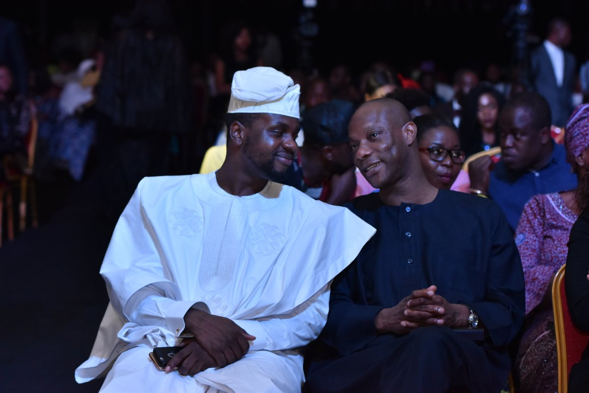 Adebola Williams and Segun Agbaje, MD GTBank