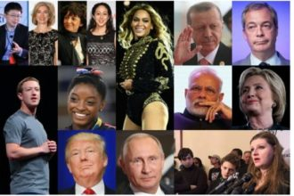 11 finalist of the 2016 TIME person of the year