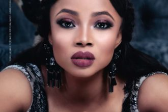Toke Makinwa Is The Cover Girl of South Africa's ESSAYS OF AFRICA Magazine