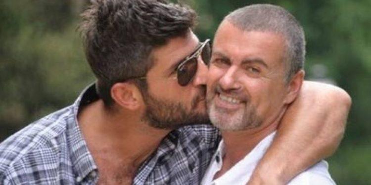 Fadi Fawaz with George Michael. Pic Twitter fadifawaz