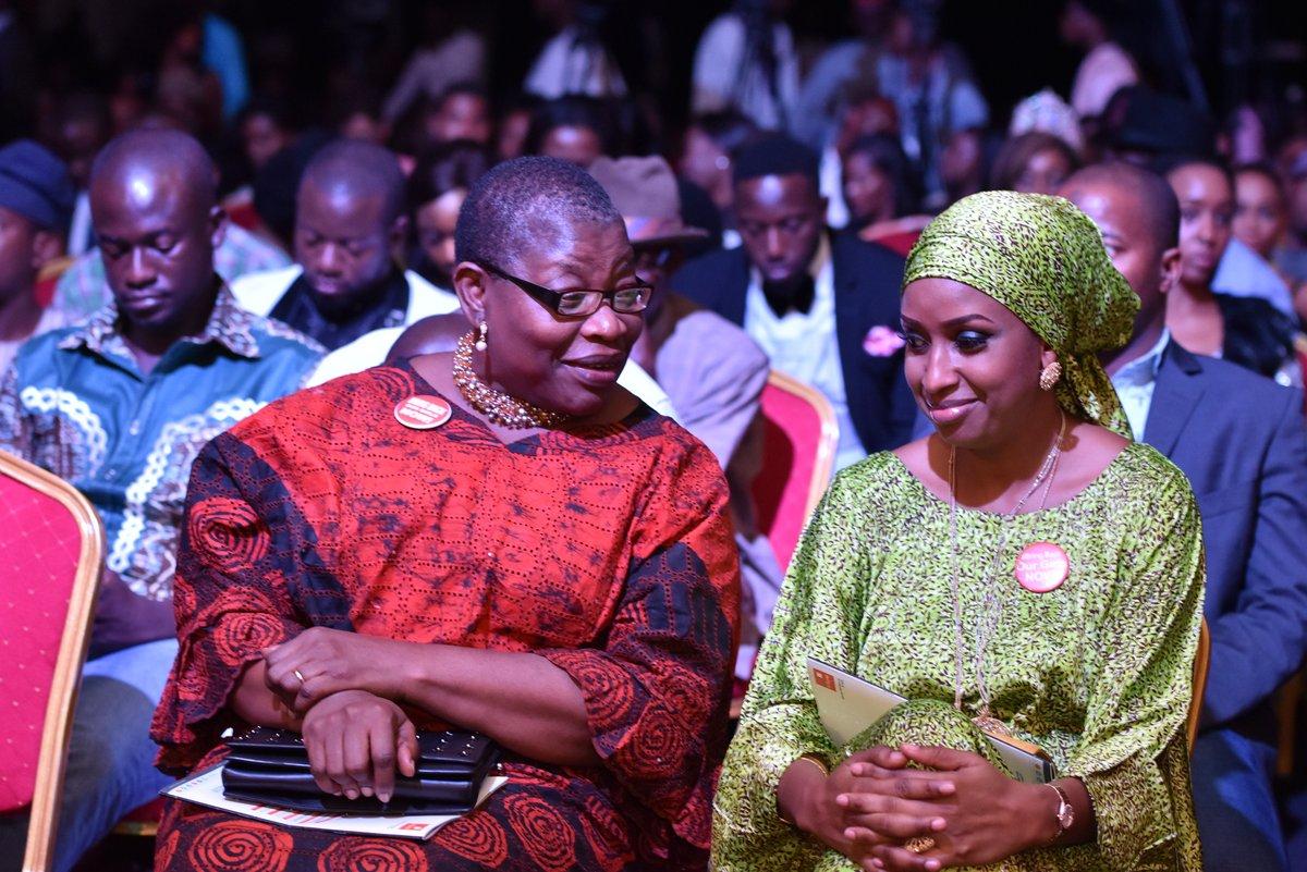 Oby Ezekwesili and Hadiza Usman