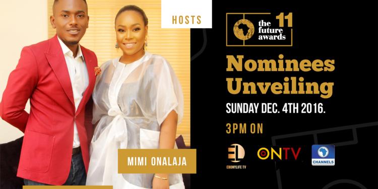 Timini Egbuson and Mimi Onalaja to Host The Future Awards Africa 2016 Nominees Unveiling