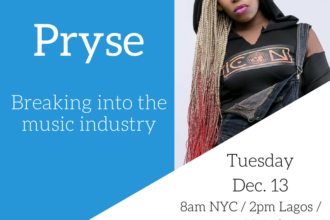Webinar With Pryse