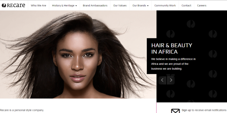 Recare Launches New Corporate Website