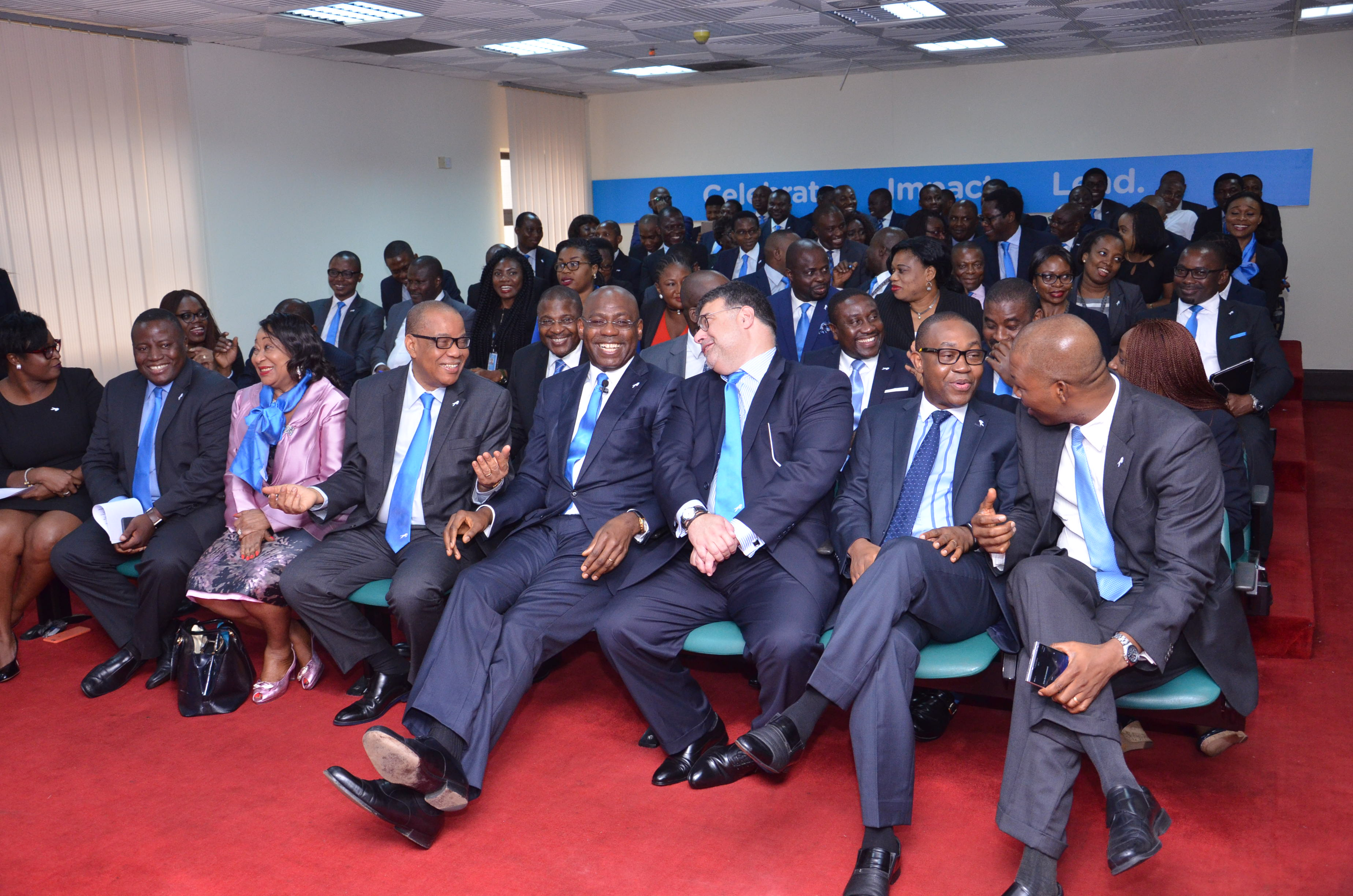 Union Bank Staff and Management at the Media Parley