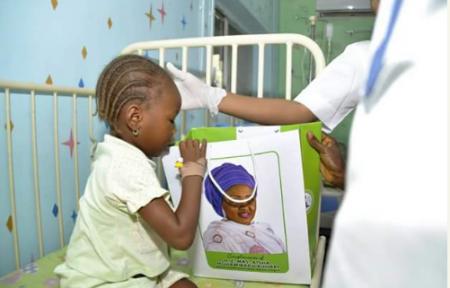 Aisha Buhari Celebrates Birthday In The Hospital