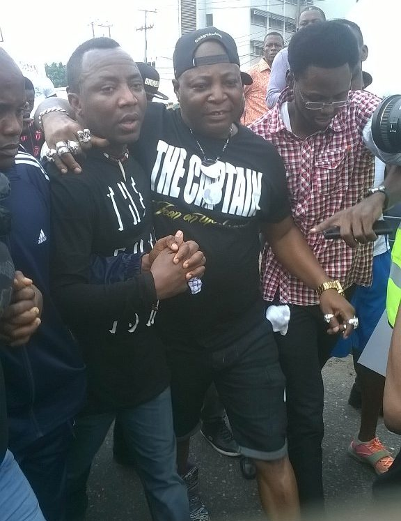Photo of charly boy protest