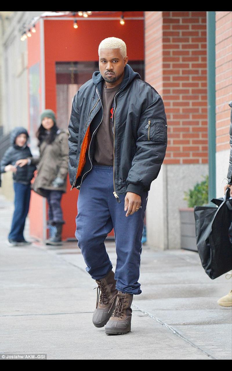 Kanye West on Blonde