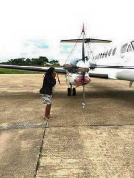 The Zambian comedian gifted his wife a private jet