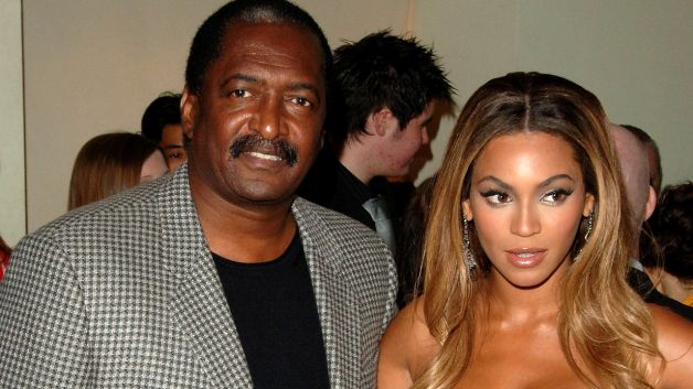 Matthew Knowles,Beyonce Dad with Queen Bey