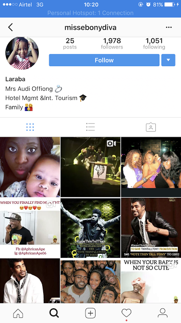 Thin Tall Tony's wife disables Instagram comments
