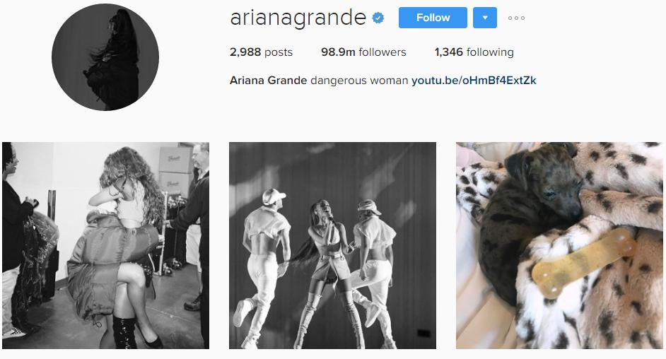 Ariana Grande Instragram