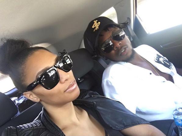 Nigerian singer Runtown and his American based girlfriend, Selena Leath