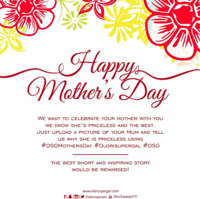 OSG Mother's Day Contest 2017