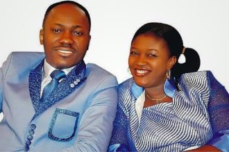 Apostle Suleman and wife Lizzy