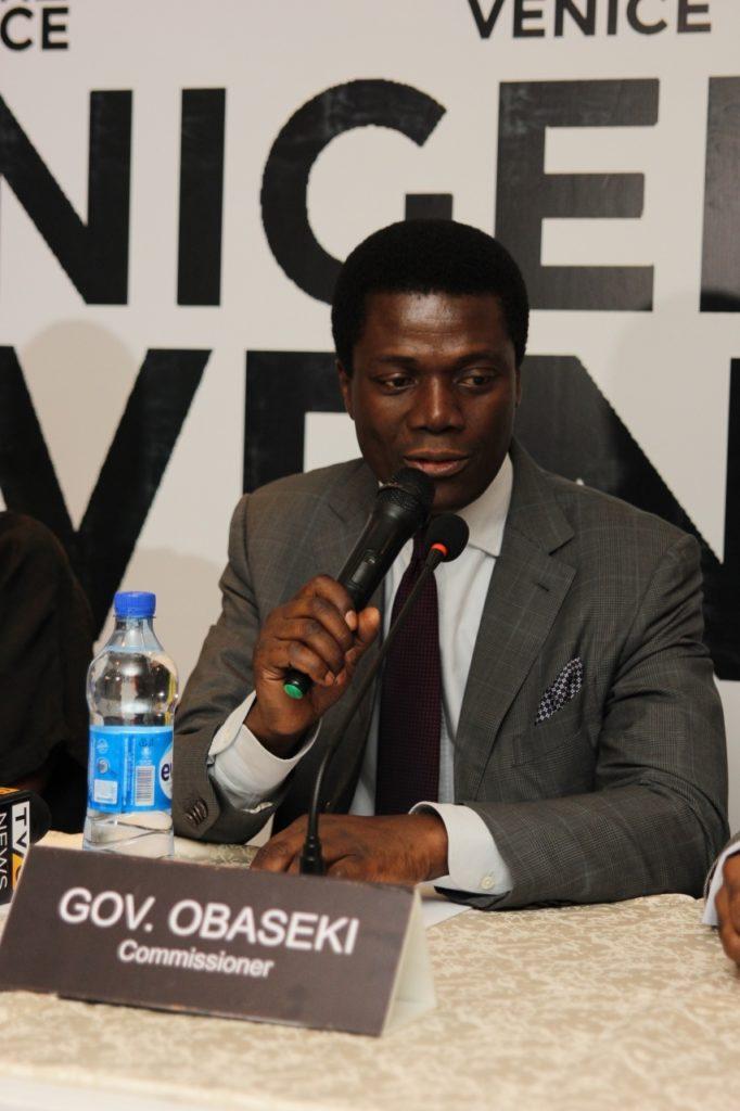 Femi Lijadu (Representative of Governor Godwin Obaseki, Commissioner, Nigeria In Venice)