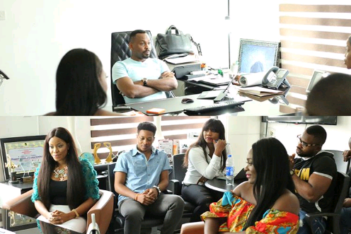 Kemen meets with other housemates of big brother naija