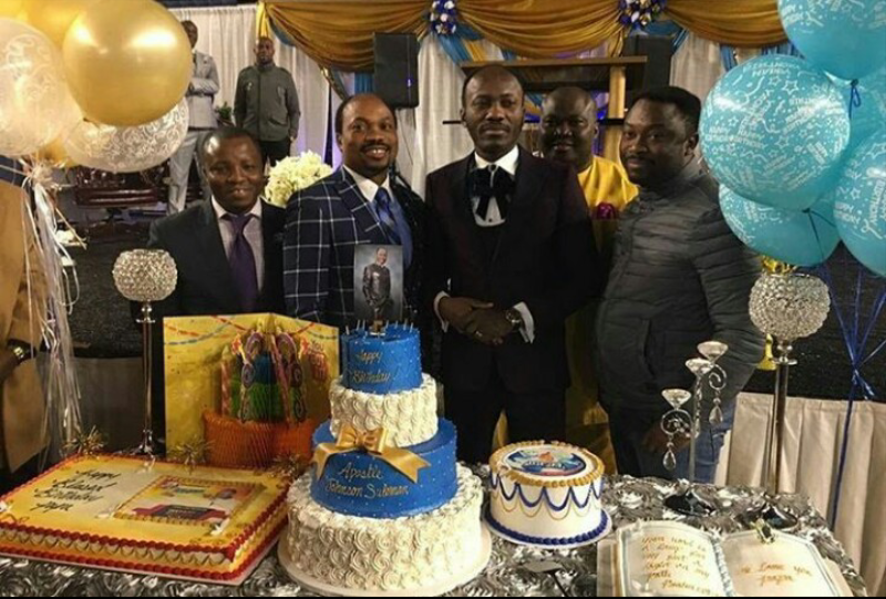 Photos from apostle suleman birthday