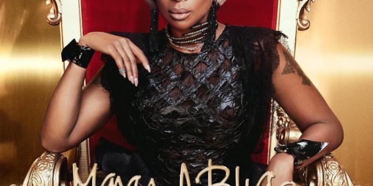 "Mary J. Blige New Album ""Strength Of A Woman"" album art cover"