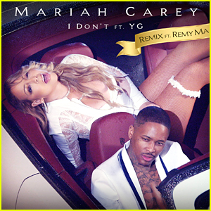 "Mariah Carey and Yg on the cover of ""I don't"" remix"