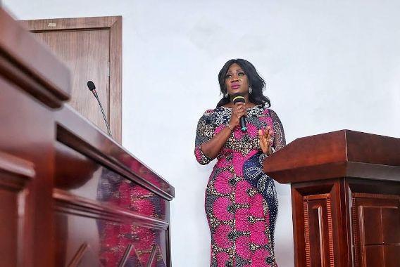 Mercy Johnson Sworn In As Kogi Entertainment SA By Governor Bello