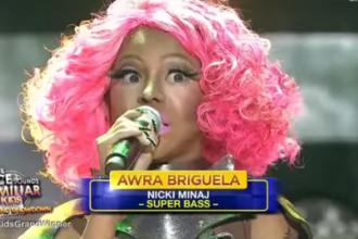 Awra Briguela mimic Nicki Minaj