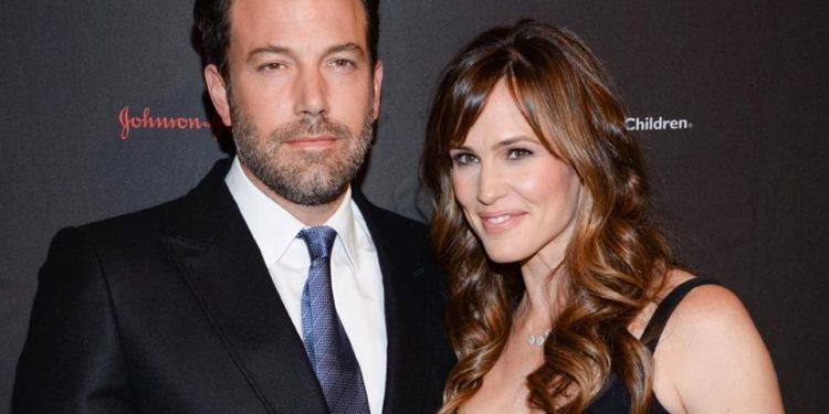 Hollywod Celebrity Couple Jennifer Garner And Ben Affleck