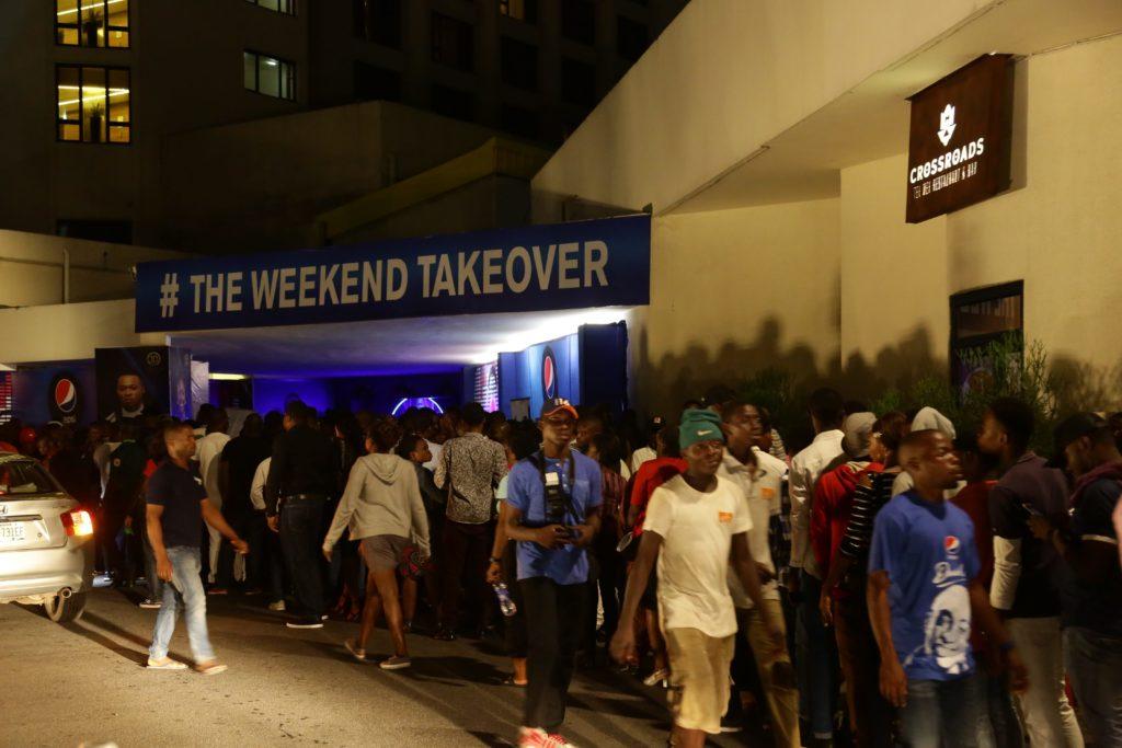 Pepsi Corporate Elite Weekend Takeover