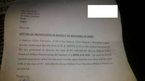Davido Allegedly Issues Dud Cheque To Mercedes Benz Car Dealer