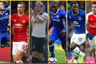 PFA Player Of The Year 2017 Nominees