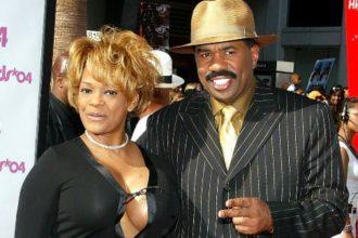 Steve Harvey and ex wife, Mary