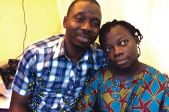 Mr and Mrs Udehi, parent of Quintuplet
