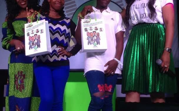 MERCY JOHNSON OKOJIE AND EBUBE NWAGBO-OLORISUPERGAL