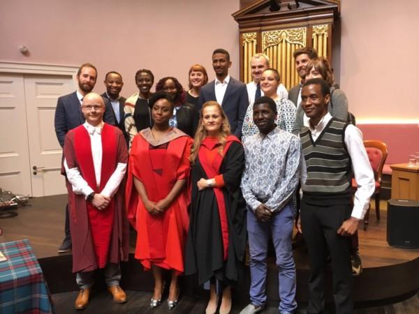 Chimamanda Ngozi Adichie honorary award at Edinburgh University - olorisupergal
