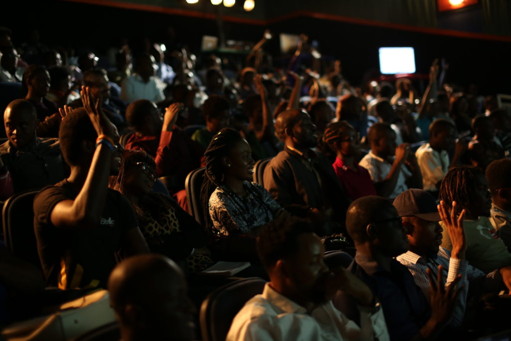 Cross-section of the attendees at the event (2)