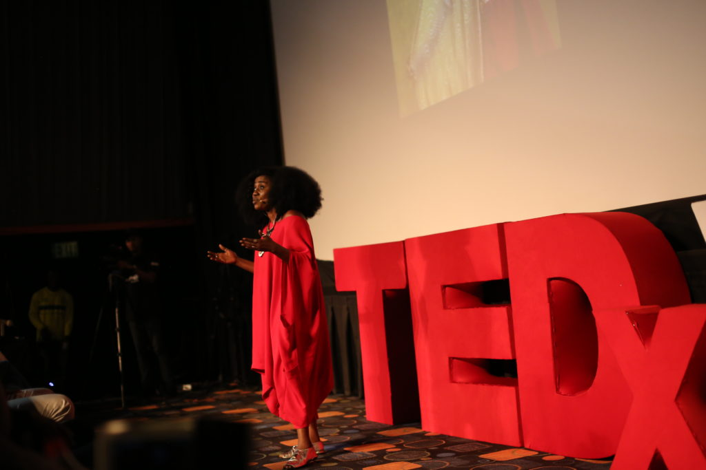 TY Bello speaking at the event-OLORISUPERGAL