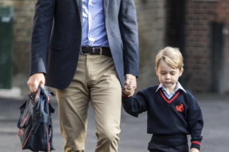 Prince George first day in school - OLORISUPERGAL