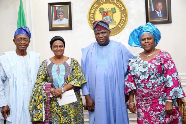 Unveiling of awolowo's statue - OLORISUPERGAL